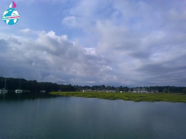 Remontée de Beaulieu River