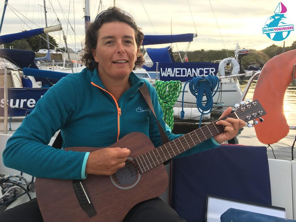 Soirée guitare au port de Beaucette
