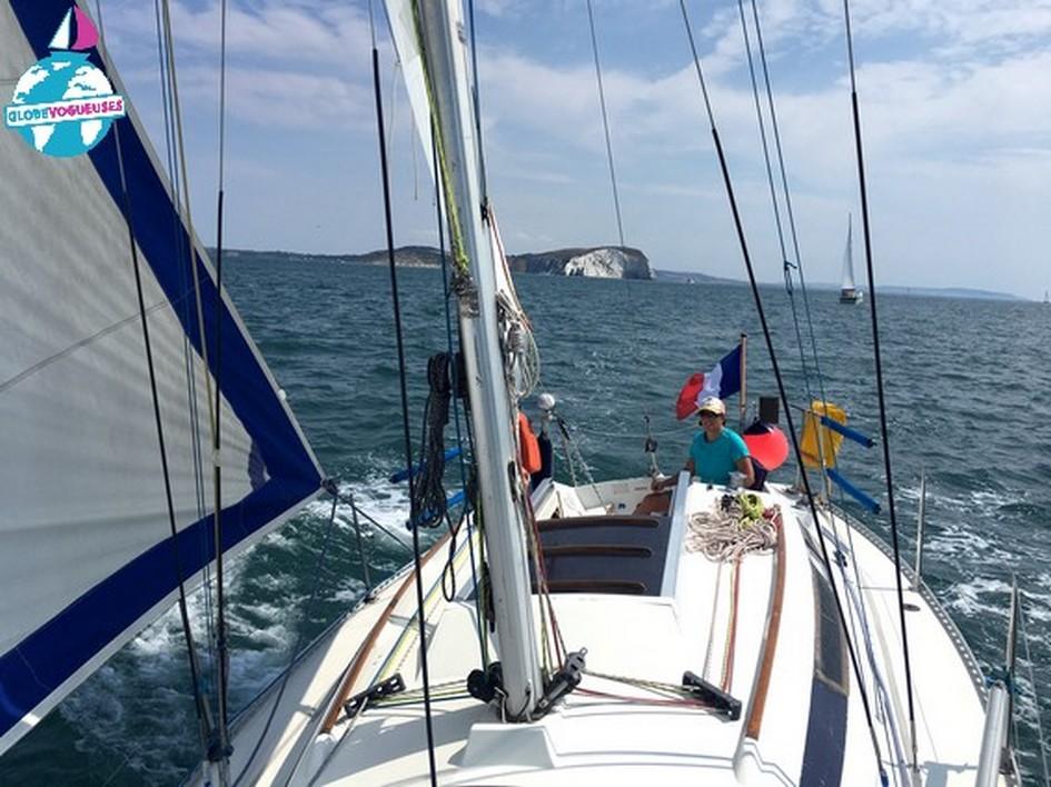 Navigation aux Needles